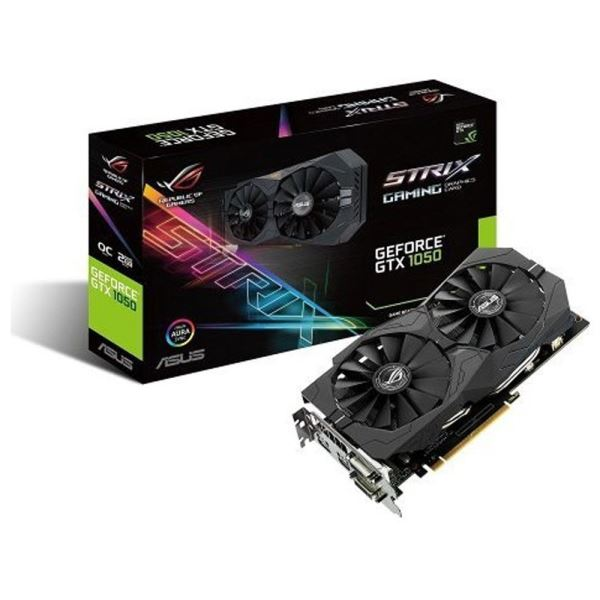 ASUS GeForce GTX1050 STRIX GAMING OC GDDR5 2GB 128Bit DX12 Nvidia Ekran Kartı