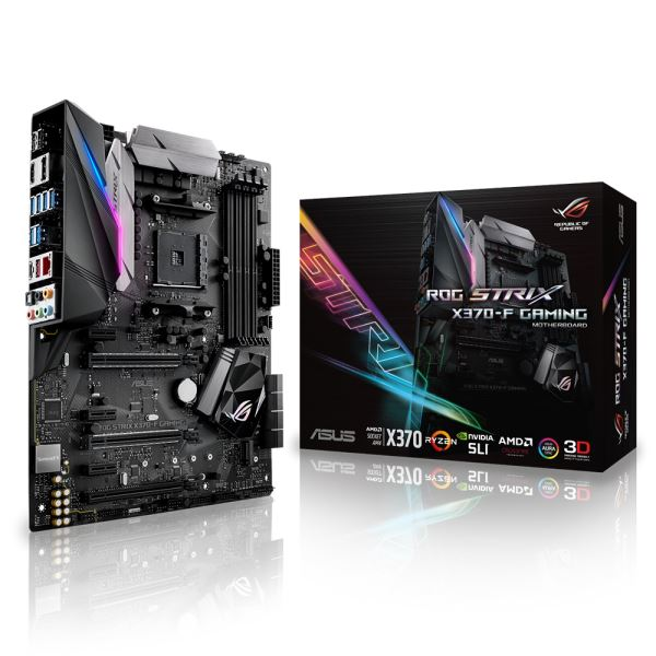ASUS STRIX X370-F GAMING AMD X370 AM4 RYZEN DDR4 3200 OC MHZ USB 3.1 Anakart