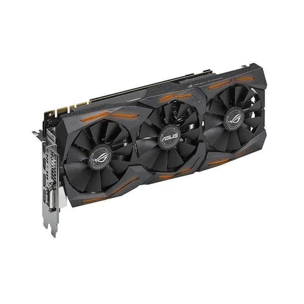 ASUS GeForce GTX1080 STRIX GAMING OC 8GB 11GBPS GDDR5X 256Bit DX12 Ekran Kartı