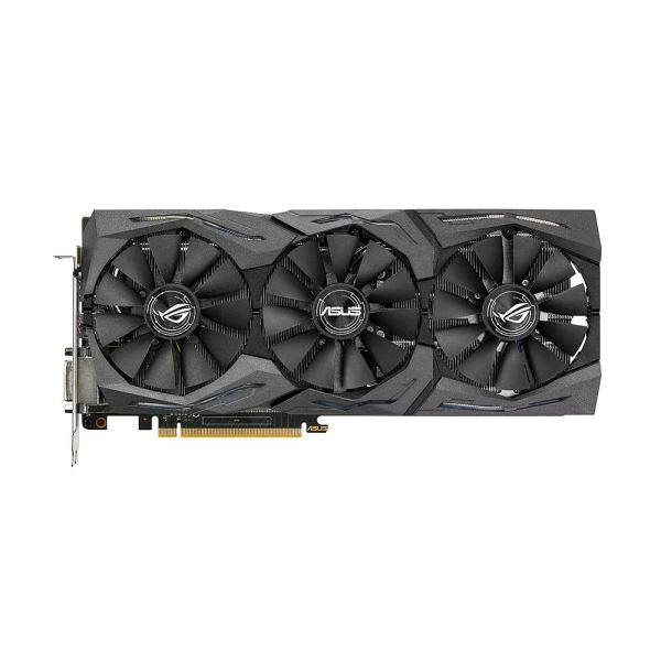 ASUS GeForce GTX1080 ROG STRIX GAMING 8GB 11GBPS GDDR5X 256Bit DX12 Ekran Kartı