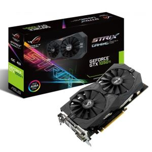 ASUS GeForce GTX1050Ti ROG STRIX GAMING GDDR5 4GB 128Bit DX12 Nvidia Ekran Kartı