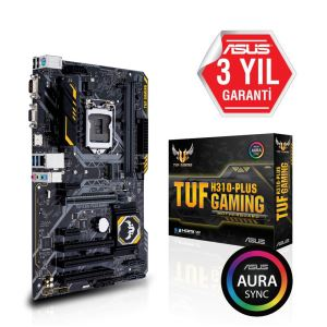 ASUS TUF H310-PLUS GAMING Intel H310M Socket 8.N.1151 DDR4 2666MHz USB3.1Anakart