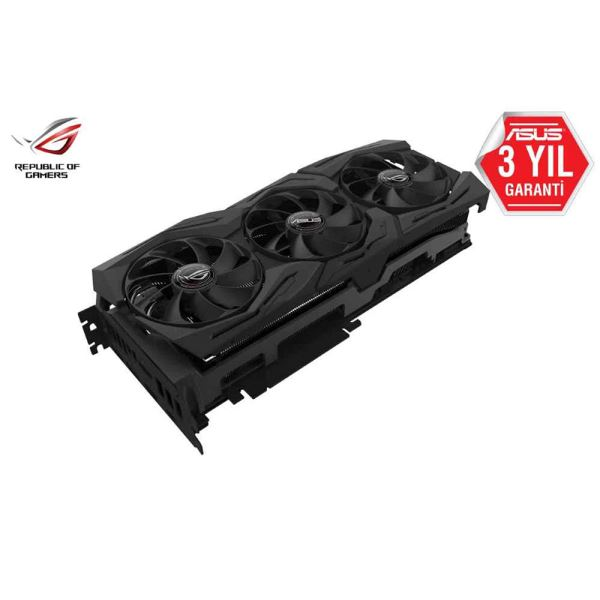 ASUS GeForce ROG STRIX RTX2080Ti GAMING 11GB GDDR6 352Bit DX12 RGB Ekran Kartı