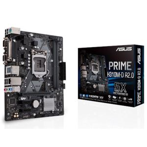 ASUS PRIME H310M-D R2.0 Intel H310 Socket 8.-9.Nesil 1151 DDR4 2666MHz Anakart
