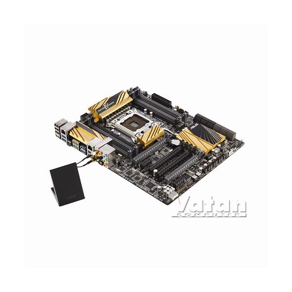 ASUS X79-DELUXE Intel X79 Soket 2011 DDR3 2400MHz(O.C.) Anakart
