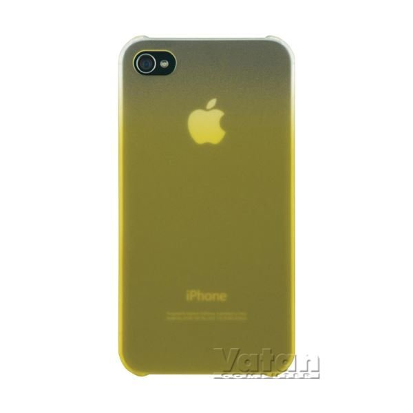 ESSENTİAL016 İPHONE 4S ARKA KAPAK (SARI)