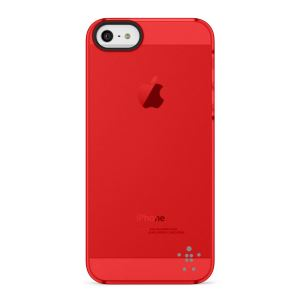 F8W162VFC04 SHİELD SHEER MATTE CASE IPHONE 5/5S POLİKARBON KILIF- (KIRMIZI)