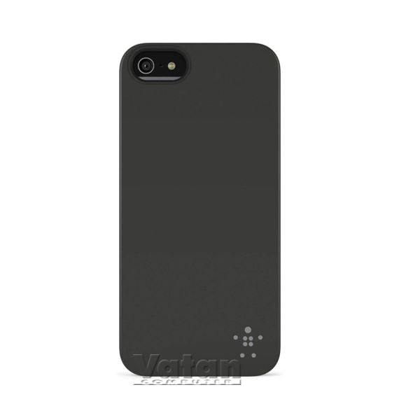 IPHONE 5,  SHIELD MATTE POLİKARBON MAT SİYAH ARKA KAPAK