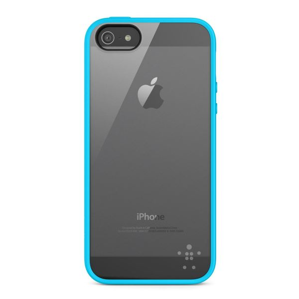 F8W153VFC04 VİEW CASE POLİKARBON IPHONE 5/5S KILIF- (ŞEFFAF TURKUAZ)
