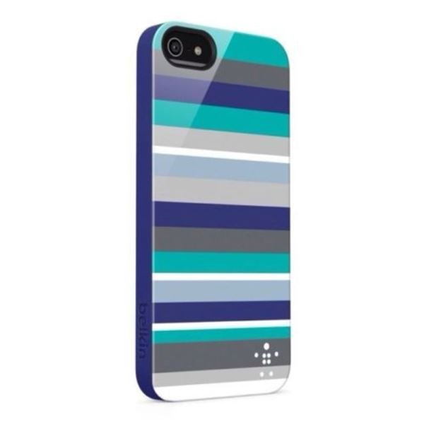 F8W124VFC01 BOLD STRİPED SHİELD CASE IPHONE 5/5S KILIF
