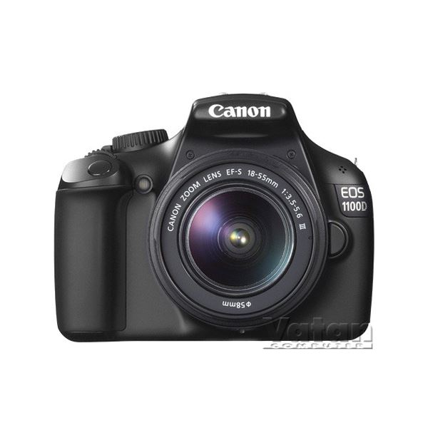 CANON EOS 1100D  18-55 /75-300 12 MP 2,7