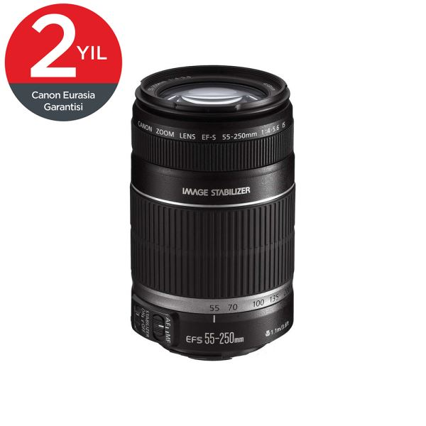 CANON EF-S 55-250 MM 4-5.6 IS STM LENS