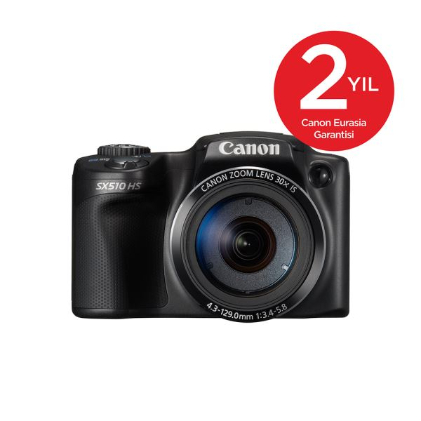 CANON SX510 12.1 MP 3