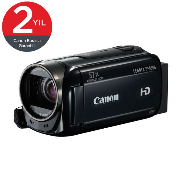 CANON HFR-506-BLACK (essential pack - 4gb + pack) DIJITAL VİDEO KAMERA