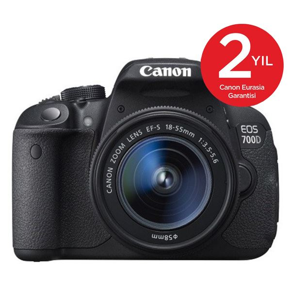 CANON EOS 700D 18-55 DC 18 MP 3,0