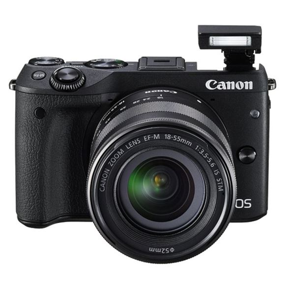 CANON EOS M3 18-55 IS STM LENS KIT 24.2 MP AYNASIZ SLR FOTOĞRAF MAKİNESİ