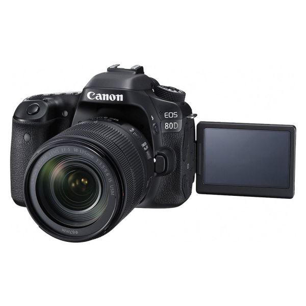 CANON EOS 80D 18-135 IS STM NANO USM 24.2 MP 3