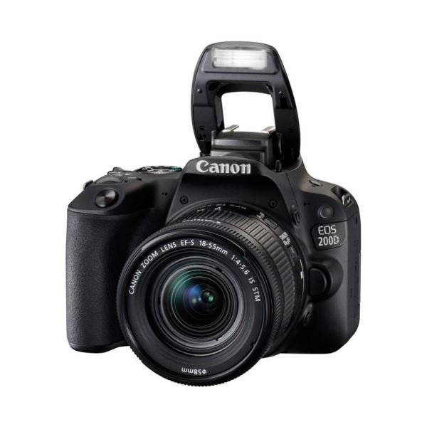 CANON EOS 200D 18-55 IS 24.2 MP 3,0