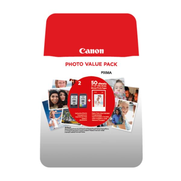 CANON PG-46/CL-56 PHOTO VALUE PACK BLİST