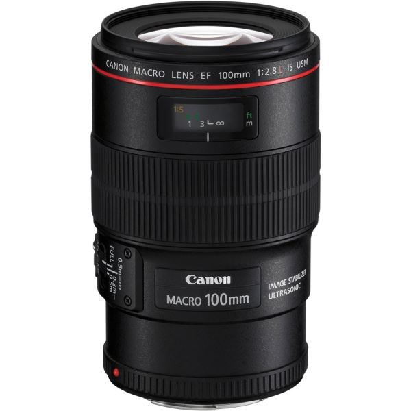 CANON EF100MM F2.8L IS USM MACRO LENS