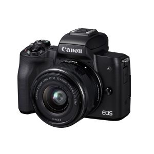 CANON EOS M50 15-45 IS STM VLOGGER KIT 24.1 MP AYNASIZ SLR FOTOĞRAF MAKİNESİ
