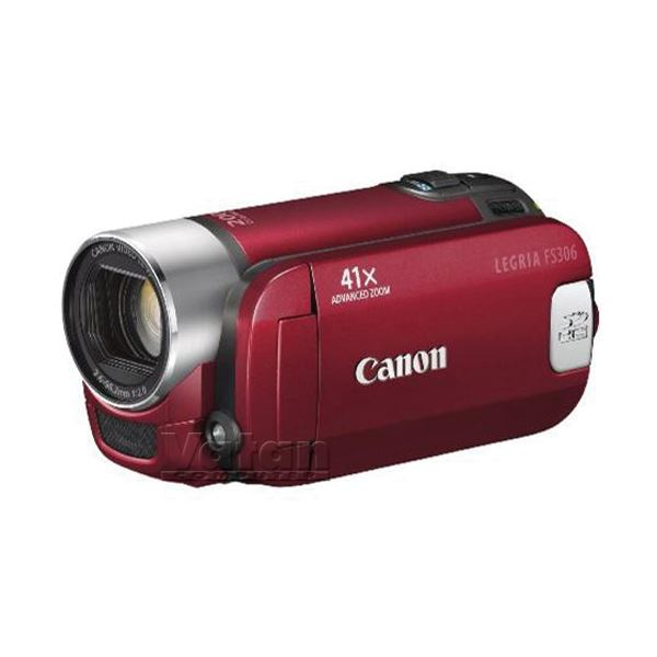 CANON FS 306 SD VİDEO CAMERA (KIRMIZI)