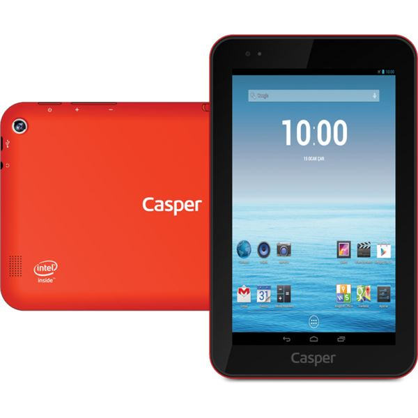 CASPER VIA T7 INTEL ATOM Z2580 2.00GHZ-1GB-16GB DİSK-7''-CAM-AND.4.2 JB