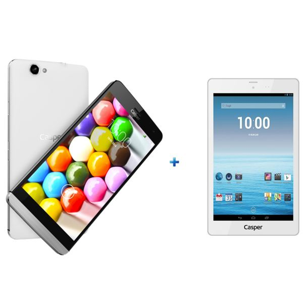 CASPER VIA V5 WHİTE-T7 TABLET HEDİYELİ