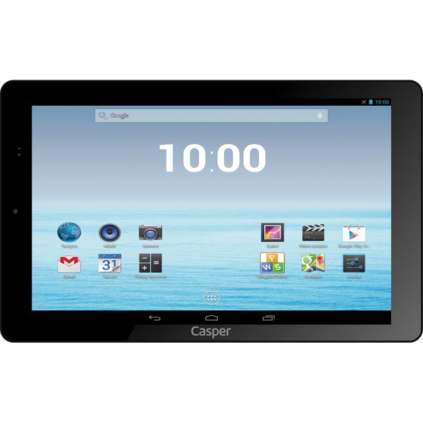 CASPER VIA T10 INTEL ATOM Z3735F 1.83GHZ-2GB-16GB HDD-10''-CAM-BT-ANDROID 4.4