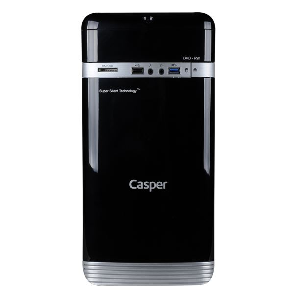 CASPER CD.VDI3260A INTEL PENTIUM G3260 3.3GHZ 4GB 500GB INTEL HD GRAPHICS WIN 10