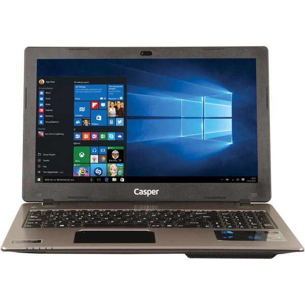 CASPER CN-VSM4210XA CORE İ5 4210M 2.6GHZ-6GB-500GB HDD-15.6''-2GB -W.10 NOTEBOOK