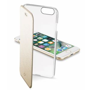 CELLULARLINE IPHONE 7 CLEARBOOK KILIF- (ALTIN)
