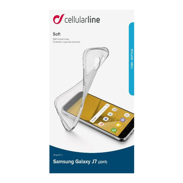 CELLULARLINE SAMSUNG GALAXY PRO SOFT ŞEFFAF KILIF
