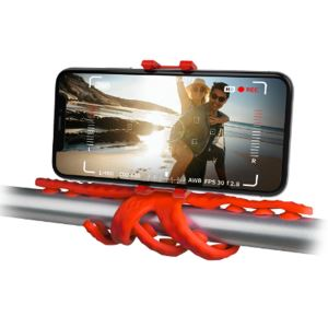 CELLY SQUIDDY ESNEK MINI TRIPOD (KIRMIZI)