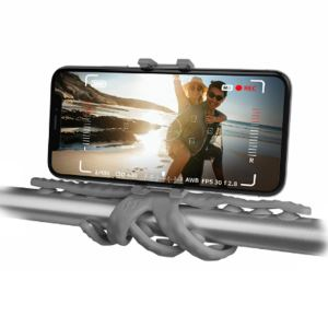 CELLY SQUIDDY ESNEK MİNİ TRIPOD (GRİ)