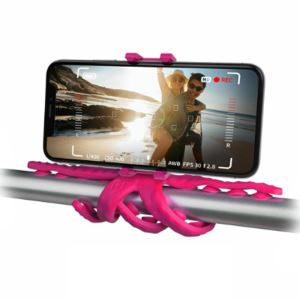 CELLY SQUIDDY ESNEK MINI TRIPOD (PEMBE)