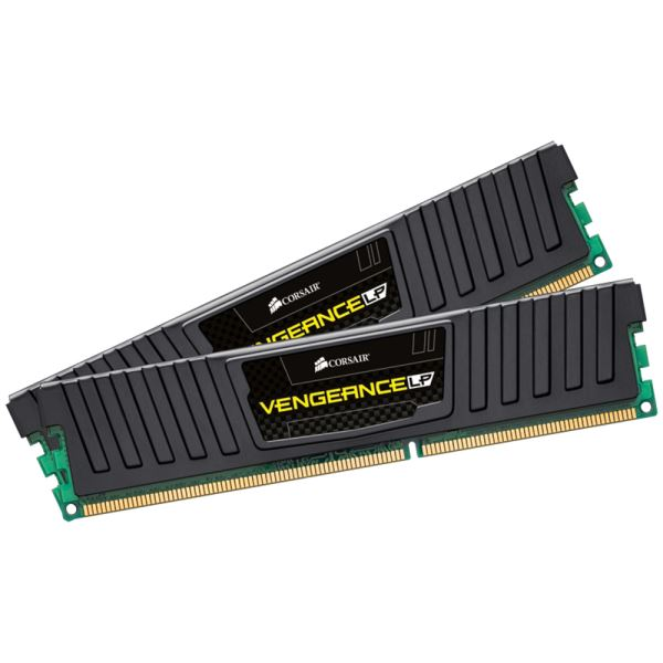 CORSAIR 8GB (2x4GB) Vengeance LowProfile DDR3 1600MHz CL9 Dual Kit Ram