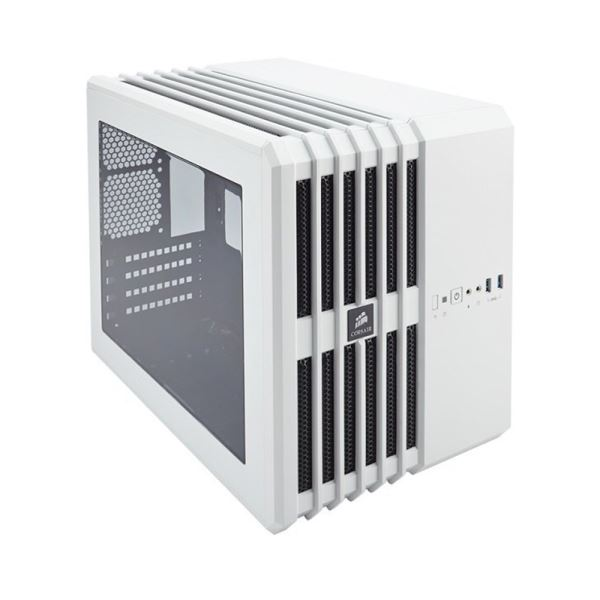 CORSAIR CARBIDE SERİSİ AİR 240 MidT- Mini-ITX ATX BEYAZ PENCERELİ KASA