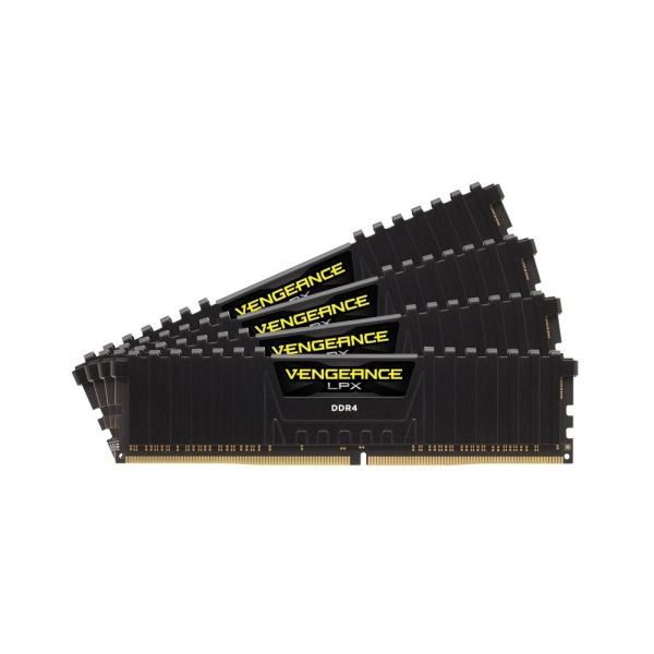 CORSAIR 32GB (4x8GB) Vengeance DDR4 2666MHz CL16 Ouad Kit Ram