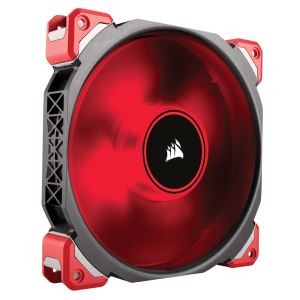 CORSAIR ML SERİSİ ML140 PRO 140MM MANYETİK LEVİTASYON KIRMIZI LED FAN