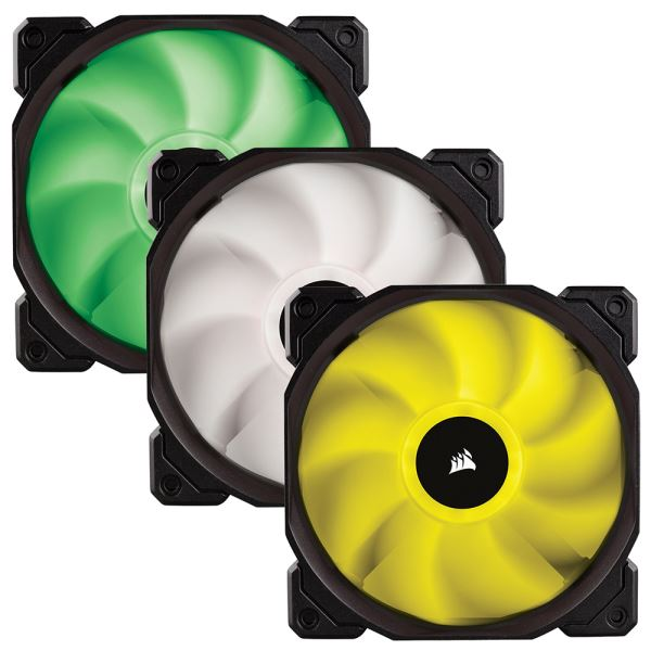 CORSAIR SP SERİSİ SP120 3x120MM SESSİZ RGB LED FAN + FAN KONTROL ÜNİTESİ