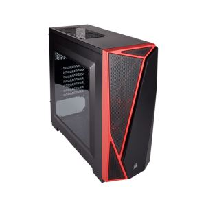 CORSAIR CARBIDE SERİSİ CHAMP/SPEC-04 80PLUS 600W KIRMIZI/SİYAH MidT ATX KASA