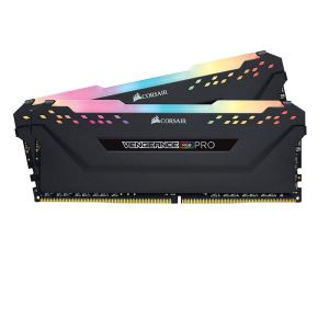 CORSAIR 16GB (2x8GB) Vengeance DDR4 3200MHz CL16 RGB Pro Led Dual Kit Ram