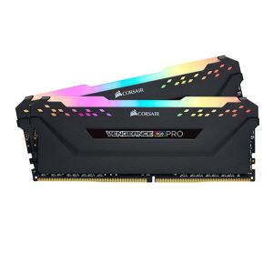 CORSAIR 32GB (2x16GB) Vengeance Siyah DDR4 3200MHz CL16 RGB Pro Led Dual Kit Ram