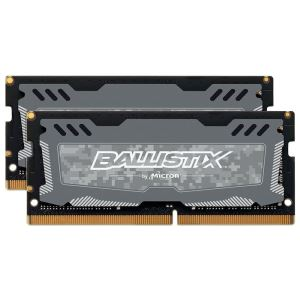 Crucial 16GB (2x8GB) Ballistix LT DDR4 2400Mhz CL16 1.2V SO-DIMM Notebook Ram