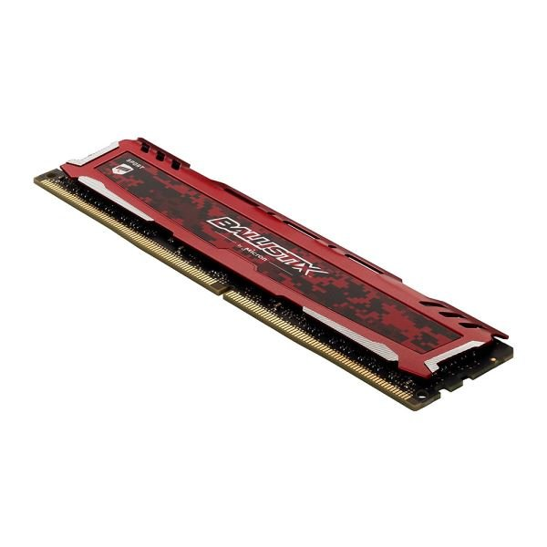 Crucial 8GB Ballistix Sport LT RED DDR4 2400Mhz CL16 1.2V PC Ram