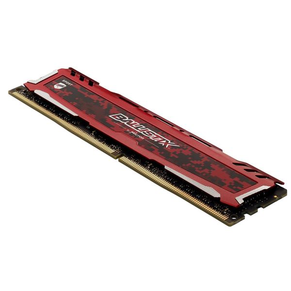 Crucial 16GB (2x8GB) Ballistix Sport LT Red DDR4 2666MHz CL16 1.2V PC Ram