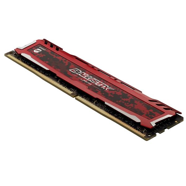 Crucial 32GB (2x16GB) Ballistix Sport LT Red DDR4 2666MHz CL16 1.2V PC Ram