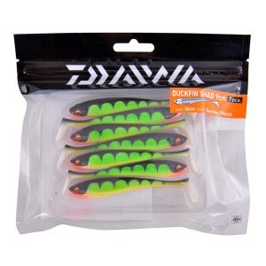 Daiwa Duck Fin 9cm Burning Perch Silikon Yem 15601413