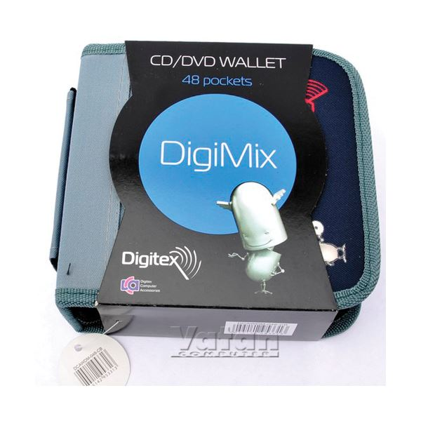 DIGITEX DIGIMIX 48'Lİ CD ÇANTASI, BLISTER